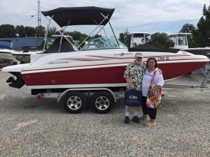 2014 Hurricane Deck Boat - Kevin & Mary